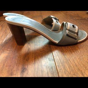 Coach beautiful summer heels